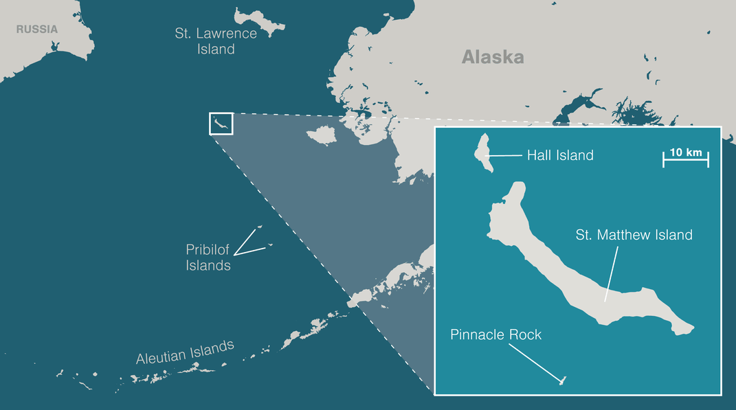 The Alaskan Island That Humans Can't Conquer