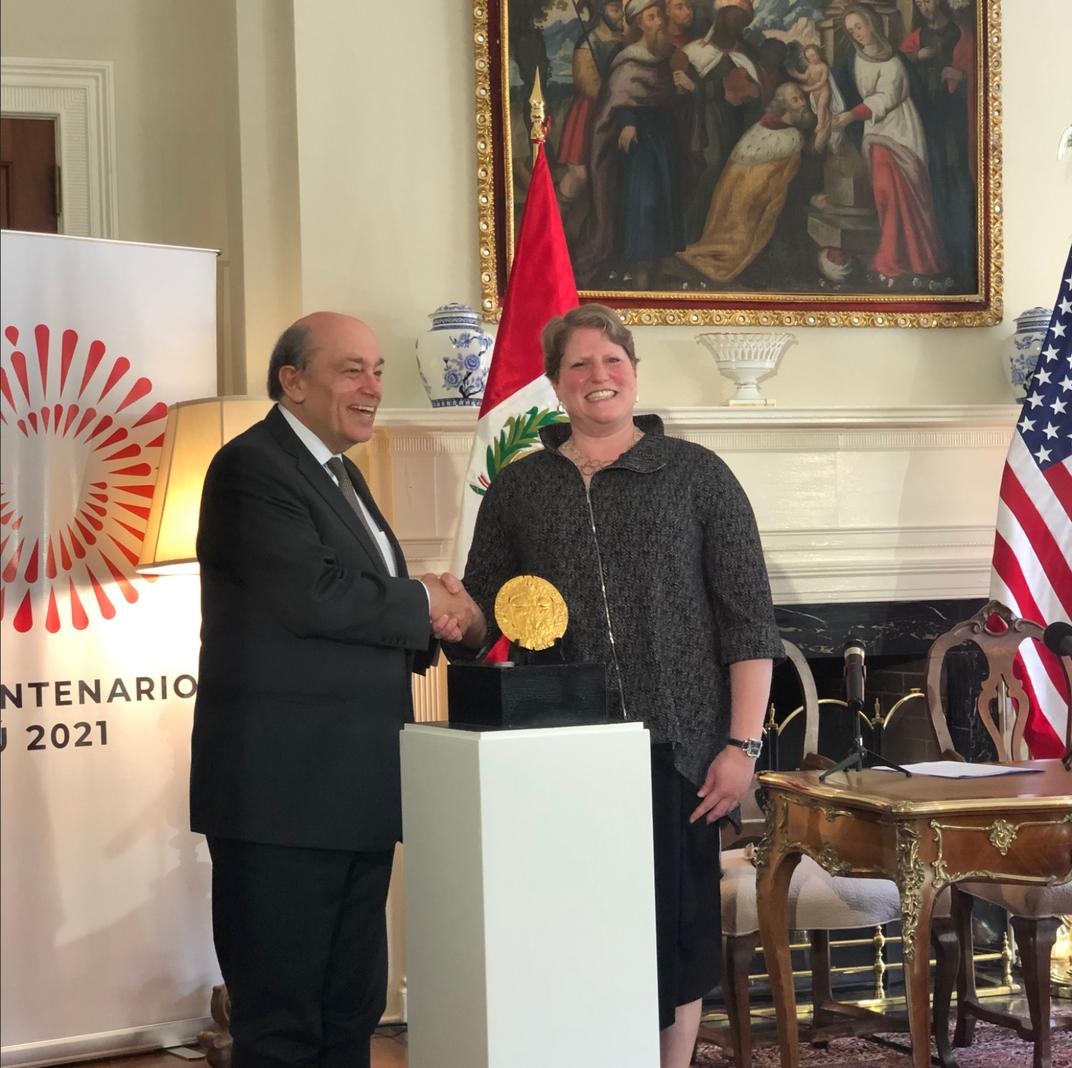 A Golden Symbol of National Identity Returns to Peru