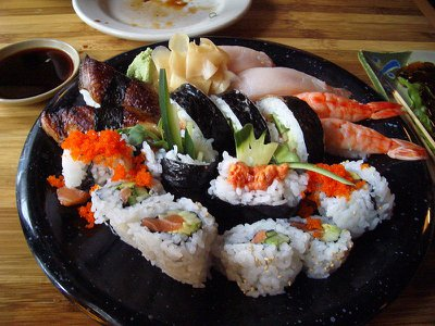 Of 82 percent of American respondents who said they would be willing to try insects, 43 percent ate sushi on a regular basis