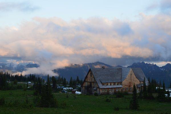 Sunrise Lodge near Mount Rainier thumbnail