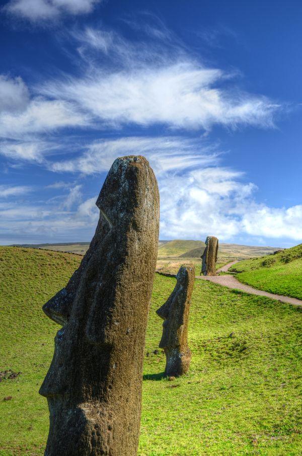 Moai at Rano Raraku thumbnail