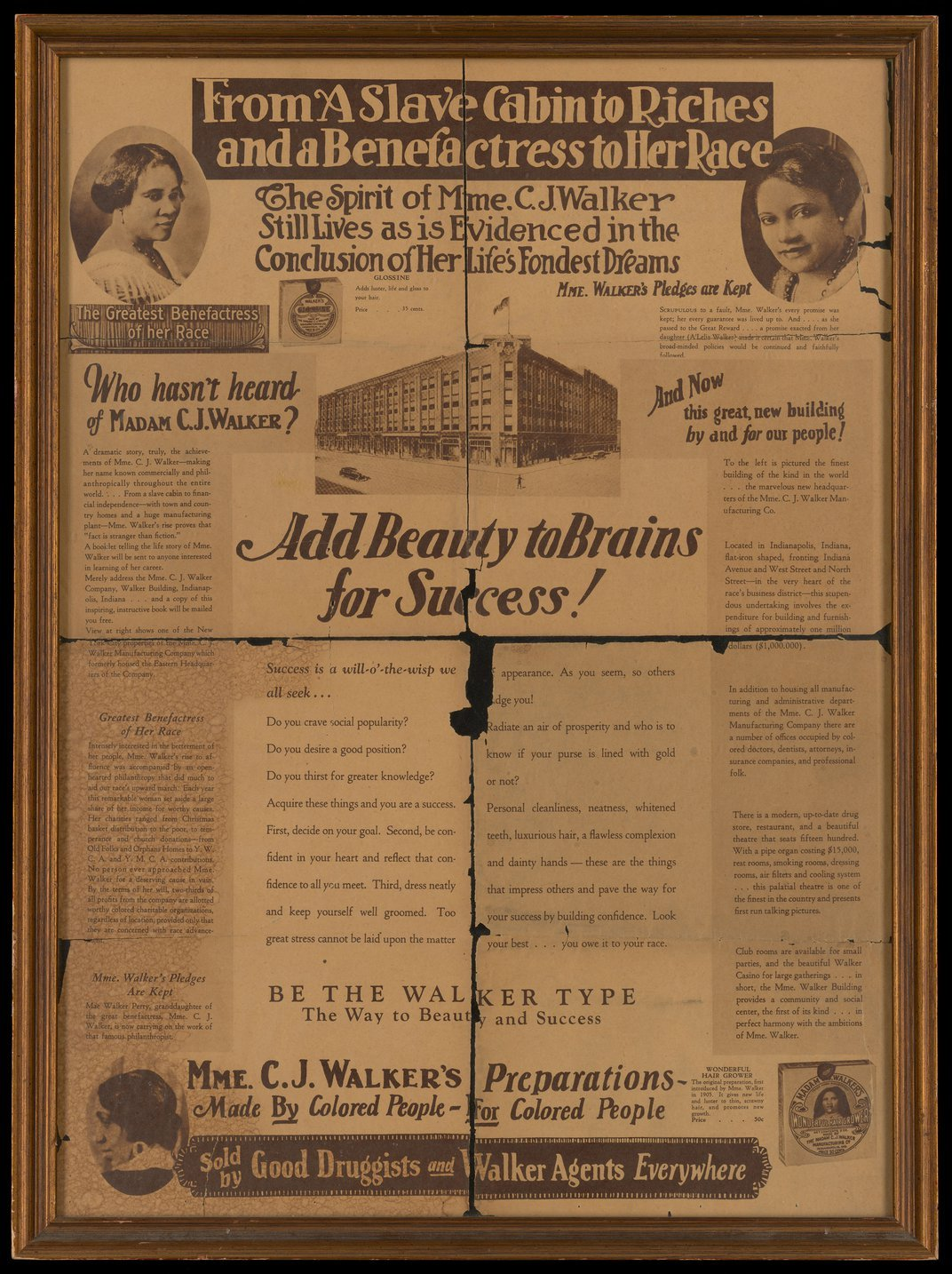 How Business Executive Madam C. J. Walker Became a Powerful Influencer of the Early 20th Century