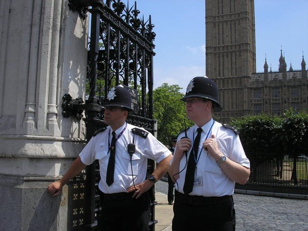 Constables in London, England. thumbnail