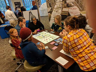 At the Smithsonian, educators have used the pedagogy of game-based learning to create innovative programs and activities that open the door to vast content and collections for learners of all ages. (National Museum of Natural History)