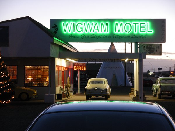 Wigwam Motel on old Route 66 in Holbrook, Arizona thumbnail