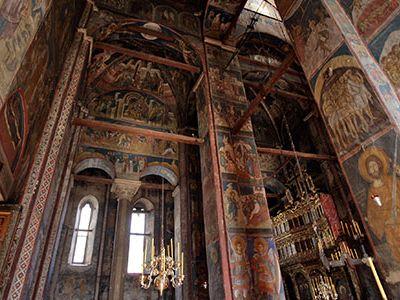 14th-century Visoki Decani Monastery in Kosovo and Metohija, Serbia.