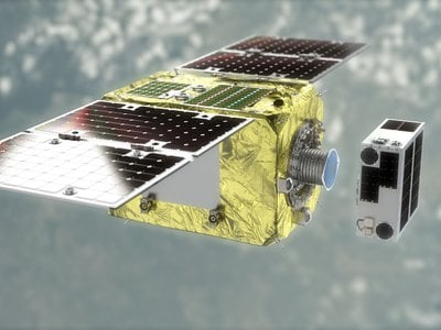 ELSA-d is a demonstration device designed to show that space debris removal is possible.