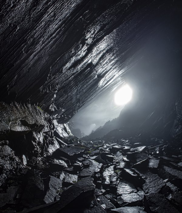 Subterranean slate cavern thumbnail