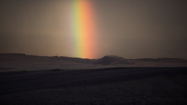 Rainbow over the Atacama Desert thumbnail