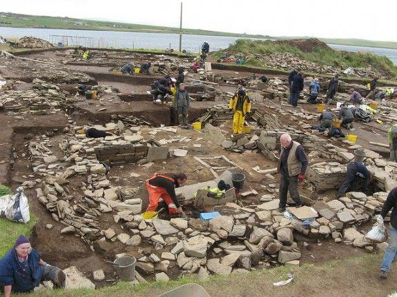 Archaeologists Uncover Massive Stone Age Complex in Scotland