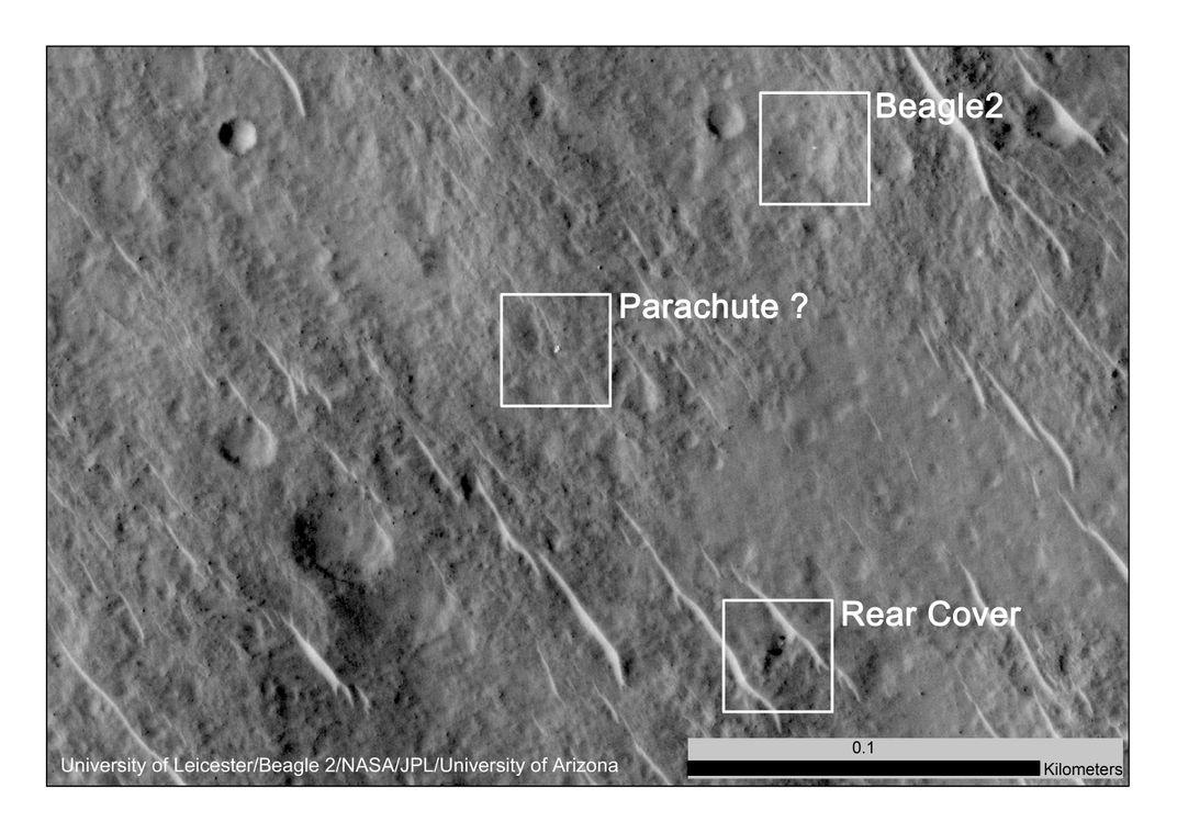 Found: One Missing Mars Probe, Still Intact