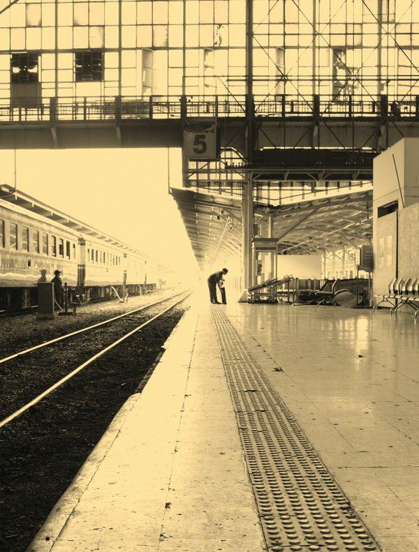 Bangkok train station 1926 thumbnail