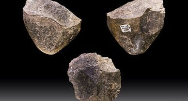 Oldowan choppers are among the oldest-known type of stone tools.