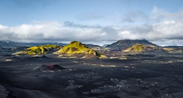 Life erupts on volcanic mountains. thumbnail