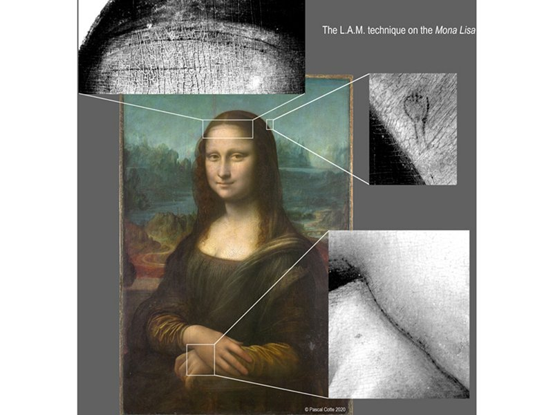 High-resolution scans of the Mona Lisa