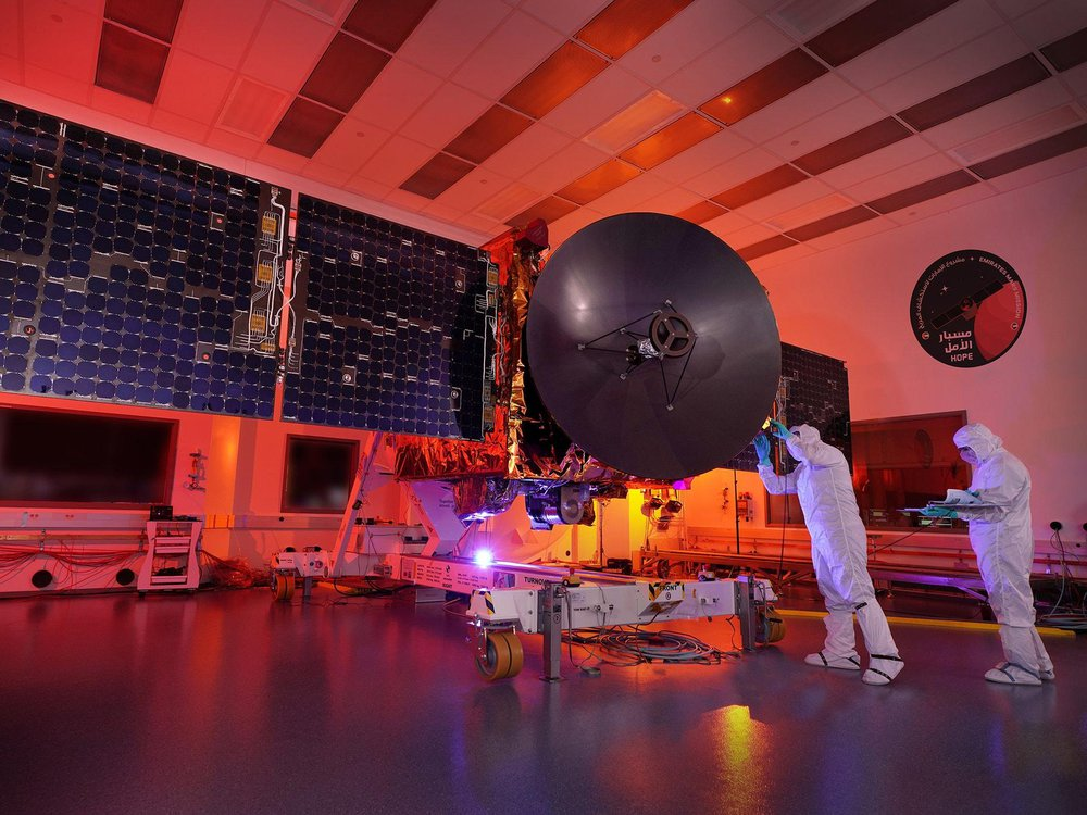 United Arab Emirates' Hope space probe