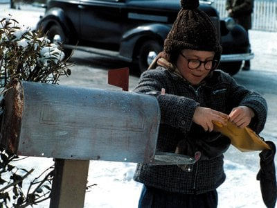 Ralphie from A Christmas Story gets his decoder ring from Little Orphan Annie.