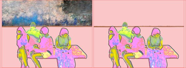 The Vanishing of Art, MoMA, Monet, Diptych thumbnail