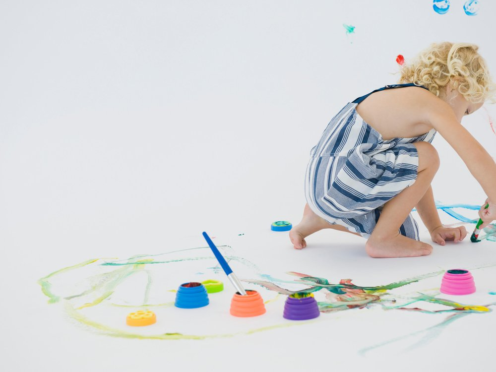 child doodling