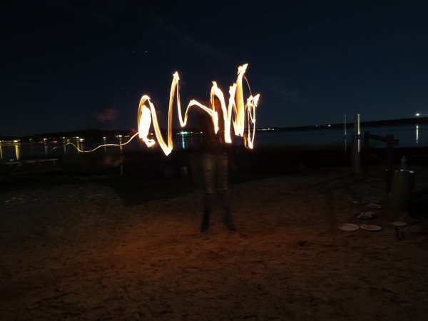 Fire floating in mid air thumbnail