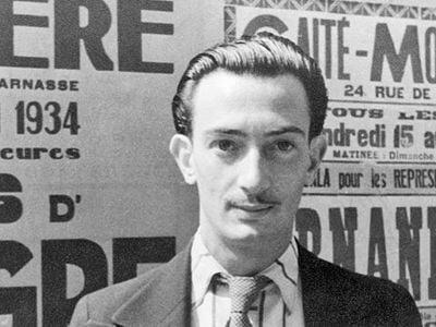 Portrait of Salvador Dalí, Paris