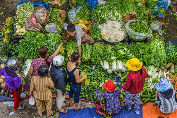 Traditional vegetable market  thumbnail
