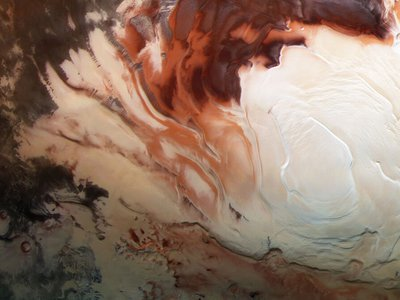 For liquid water to exist on the Red Planet, the water needs to be infused with large amounts of salts or heated by a heat source like geothermal activity.