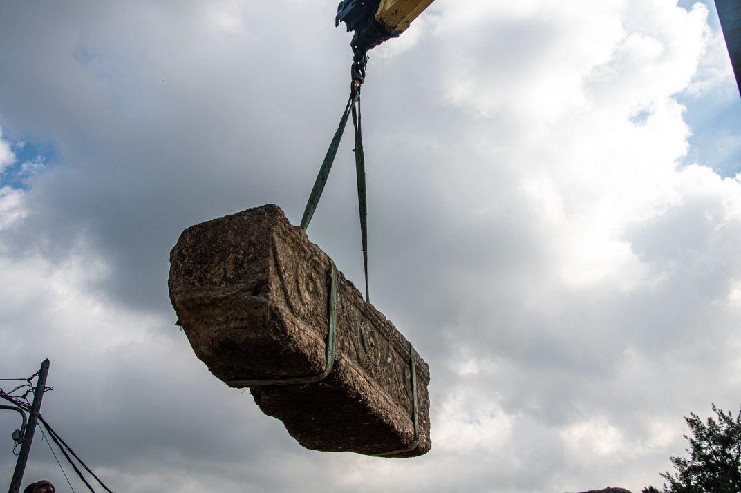 Construction at Israeli Safari Park Unearths 1,800-Year-Old Sarcophagi