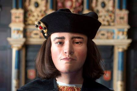 The reconstructed face of Richard III
