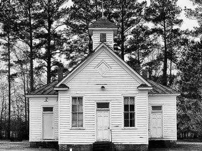 Pleasant Plains School in Hertford County, North Carolina, active 1920-1950