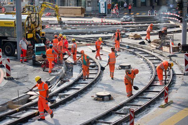 Workers Repairing Tracks thumbnail