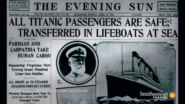 Preview thumbnail for How the Titanic Sinking Became Fake News