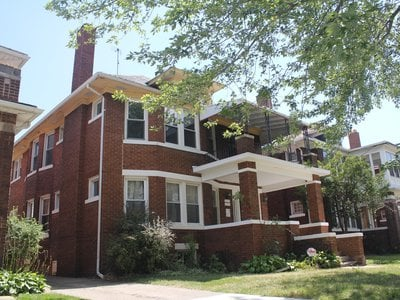 Century Partners renovated this house and others on Atkinson Street in Detroit.
