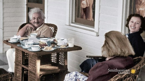 Preview thumbnail for Einstein's Life in America Shown in Stunning Home Movies