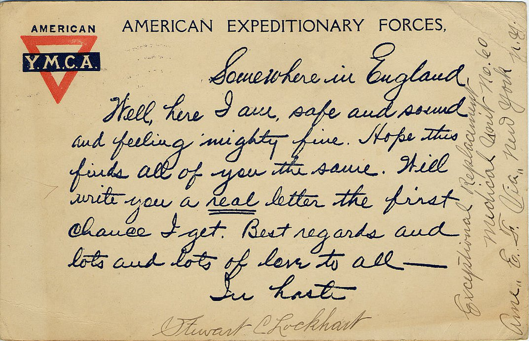 World War I Letters From Generals to Doughboys Voice the Sorrow of Fighting a War