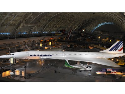 In 2003, Air France donated Concorde F-BVFA to the Smithsonian. The aircraft was the first Air France Concorde to open service to Rio de Janeiro, Washington, D.C., and New York and had flown 17,824 hours.