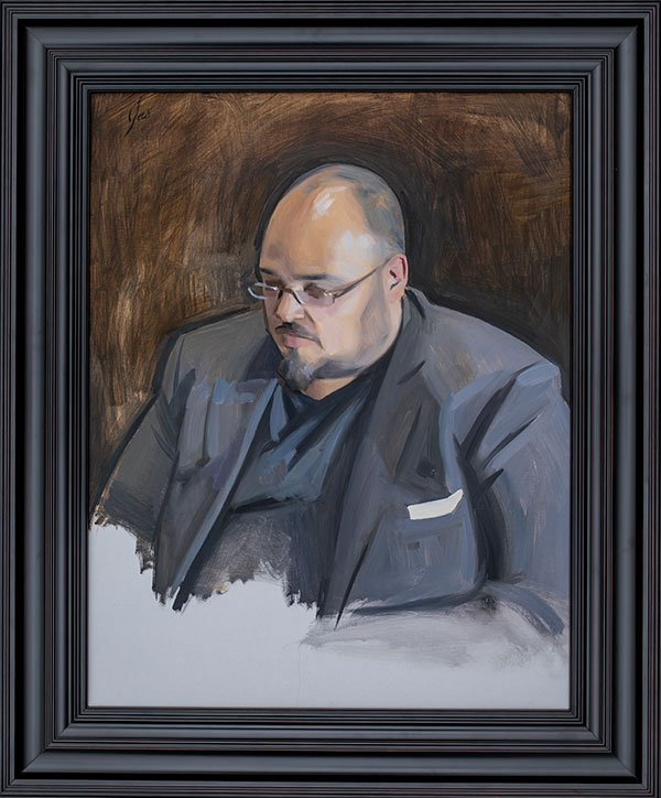 Jas Knight, Depicting Michael Seibel