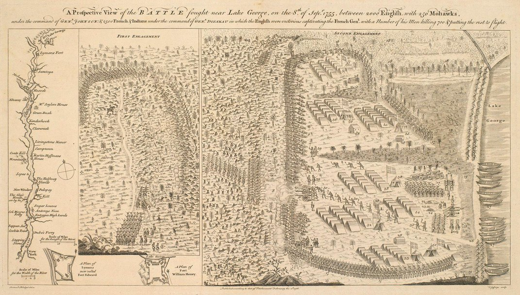 These Newly Digitized Military Maps Explore the World of George III