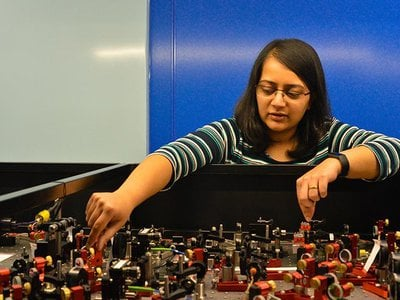 Quantum physicist Amruta Gadge became the first to create a Bose-Einstein Condensate—the exotic, elusive fifth state of matter—remotely.