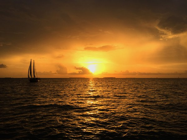 Sunset in Key West Florida thumbnail