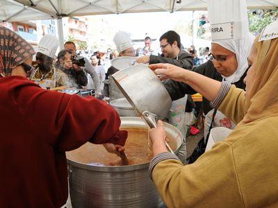 Each spring the Festival de Sopes del Món Mundial (World Soup Festival) takes place in Barcelona, the capital of Spain's Catalonia region.