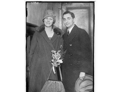 Irving Berlin and Ellin Mackay Berlin.