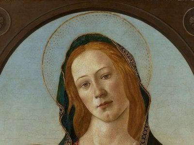The centuries-old painting—now identified as a genuine Botticelli—has finally emerged from storage.