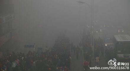 A street scene in Harbin
