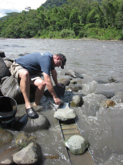 Hunting for Gold in the Amazonian Jungle