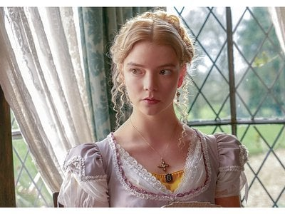 Anya Taylor-Joy plays the manipulative-but-well-intentioned titular character Emma in Autumn de Wilde's adaptation of the oft-revisited Austen novel.