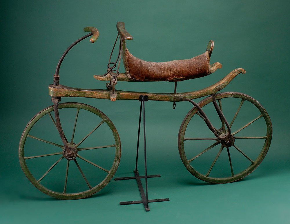 This Wooden Running Machine Was Your Fixie's Great-Great Grandpa