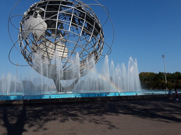 Rainbow coming out of the Unisphere thumbnail