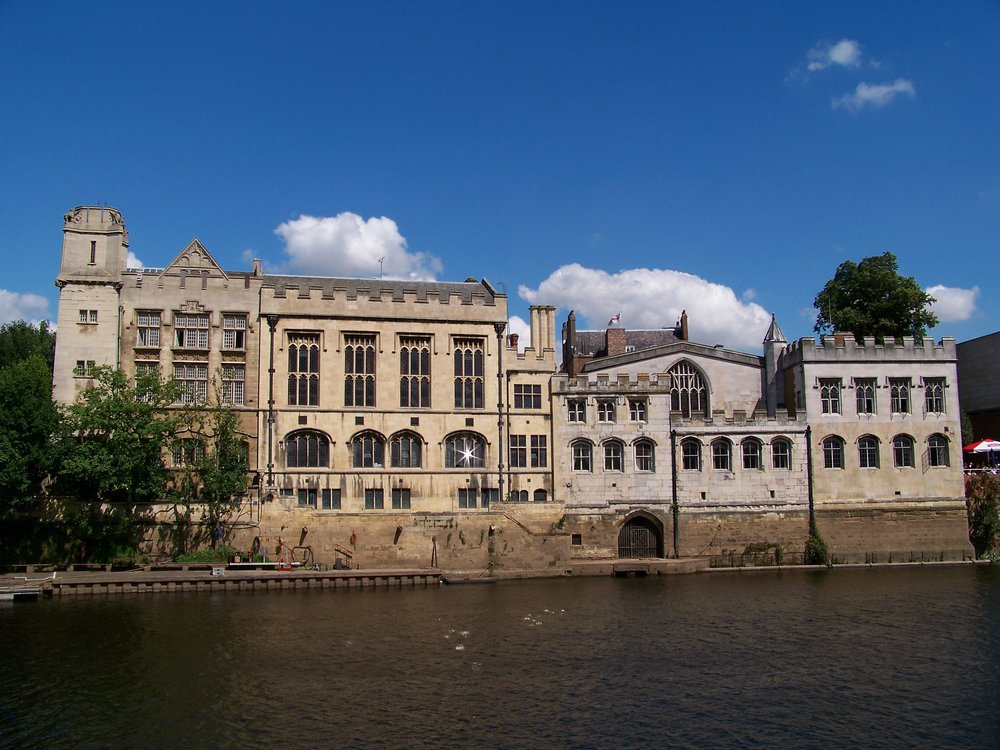 A view of the York Guidhall