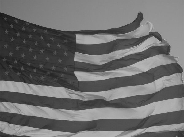 The Ragged Flag in black and white thumbnail